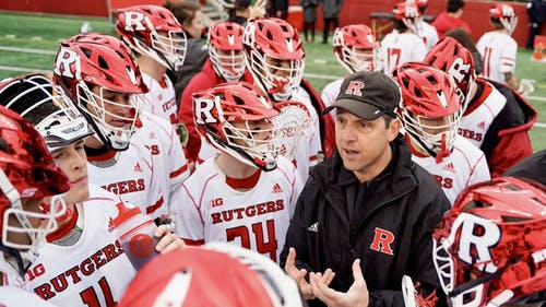 Head men's lacrosse coach Brian Brecht's 2021 recruiting class consists of 18 members. – Photo by Twitter