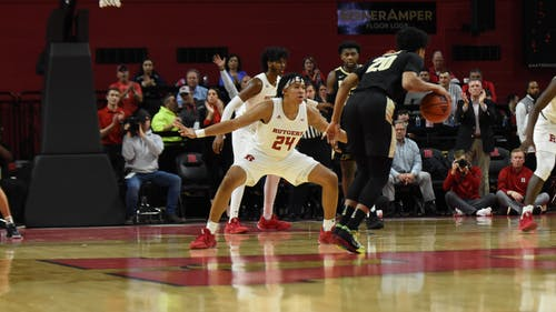 Junior forward Ron Harper Jr. is looking to establish himself as one of the top small forwards in the country. – Photo by The Daily Targum