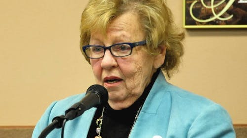 State Senate Majority Leader Loretta Weinberg (D-N.J.) said the University must enforce its Salary Equity Program in order to eliminate pay inequality. – Photo by Loretta Weinberg / Facebook