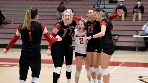 The Rutgers women's volleyball team now has its full schedule set for next year with the announcement of its non-conference games.  – Photo by Greg Fiume / Scarletknights.com