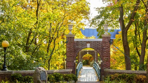 Despite the beautiful scenery, Douglass is perhaps the creepiest campus at Rutgers, with spooky ancient lore that's bound to give you the creeps.  – Photo by Rutgers.edu