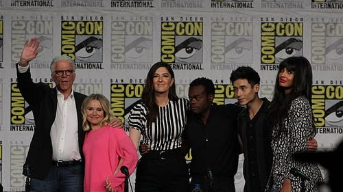 """The Good Place"" ran for four seasons, first appearing in 2016. The series concluded at the beginning of 2020.  – Photo by Photo by Wikimedia 