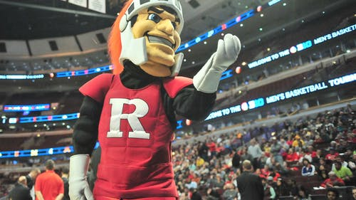 The Rutgers University Student Assembly recently passed a bill intended to support ethnic and gender diversity by adding multiple Scarlet Knights that could be black, Latino, Asian, female or third gender in addition to the existing Caucasian Scarlet Knight. EDWIN GANO / ASSOCIATE PHOTO EDITOR / MARCH 2015 – Photo by Edwin Gano