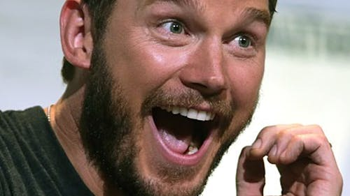 """Chris Pratt is an actor known for his goofy, yet lovable characters, like Star Lord in """"The Guardians of the Galaxy"""" franchise.  – Photo by Wikimedia"""