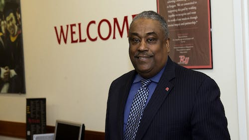 Courtney McAnuff, the vice chancellor of Student Enrollment, said the percentage of people who make up the New Brunswick campus's student body is a cause for concern because it is approximately half the percentage of New Jersey's overall population.