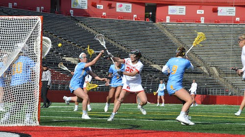 The women's lacrosse team recently named five captains who will lead the team through the 2021 season.  – Photo by The Daily Targum