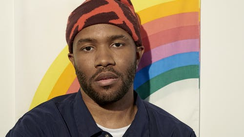 Singer and songwriter Frank Ocean is one of many POC LGBTQ+ artists who openly express their sexuality, showing strength in authentically owning one's identity – Photo by Collier Schorr / Gayletter.com