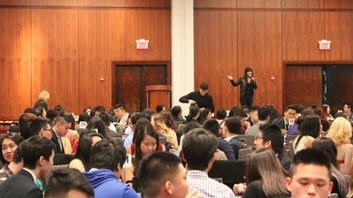The East Coast Asian-American Student Union holds a conference every year, with this year's events being held at Rutgers for the first time in nearly a decade. Attendees discussed stereotypes they face and ways to further their causes. This year, stand-up comedian Jenny Yang was a keynote speaker.