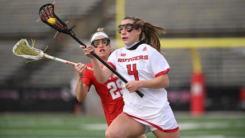 Sophomore defender Meghan Ball looks to follow up an award-winning week as the Rutgers women's lacrosse team gets set for a weekend series against Michigan.  – Photo by Scarletknights.com