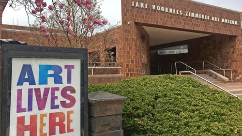 After a long virtual hiatus, the Zimmerli Arts Museum is now open with new exhibits for students to enjoy. – Photo by Zimmerli Art Museum / Instagram
