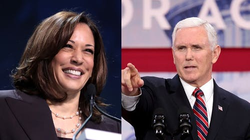 Vice President Mike Pence and Sen. Kamala Harris (D-Calif.) discussed the pandemic, unemployment levels and the upcoming elections, among other things, at the vice presidential debate. – Photo by Wikimedia